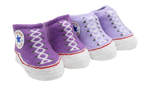 Converse Infant Booties (Bright Violet (P2A), 0-6 Months) -