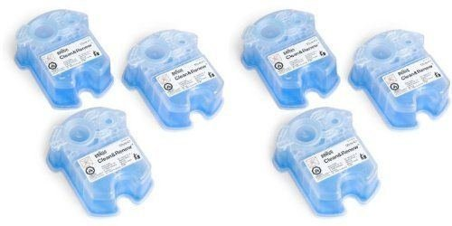 6 Pack Braun Syncro Shaver System Clean & Renew Cartridge Refills CCR3 (Braun Shaver Clean And Renew)