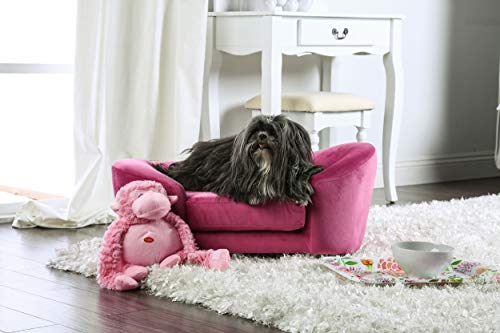 - HOMES: Inside + Out Molly Pink Contemporary Pet Sofa