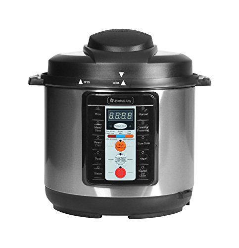 Avalon Bay Pressure Cooker PC1000SS