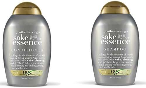 Shampoo & Conditioner: OGX Sake Essence