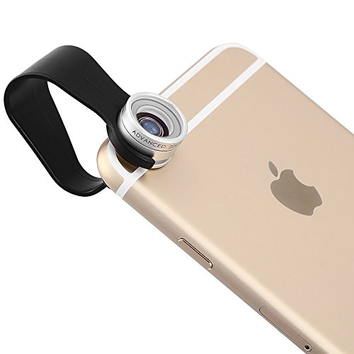 HD Phone Lens Apexel 20x HD Macro Lens With Universal Clip for iPhone 6 6 plus/ 5 /5S/ Samsung Galaxy S4/S5/S6 Note 3/Note 4 Silver