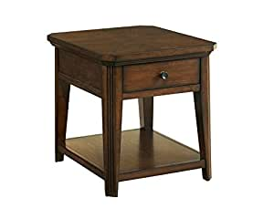 Amazon Com Broyhill Estes Park Drawer End Table Kitchen