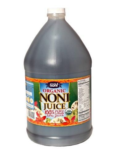 Organic Noni 100% Island (100% Pure Organic Hawaiian Noni Juice - Gallon Jug/128oz)
