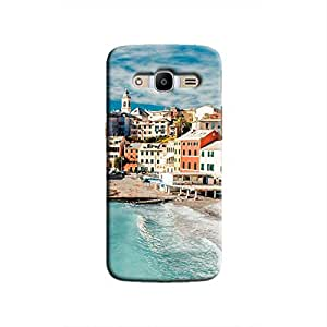 Cover It Up - Beach Town Galaxy J2 2016 Hard Case