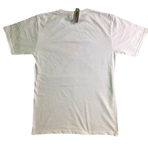 I Love NY New York Short Sleeve Screen Print Heart T-Shirt White 2Xl by NYC FACTORY (Image #1)