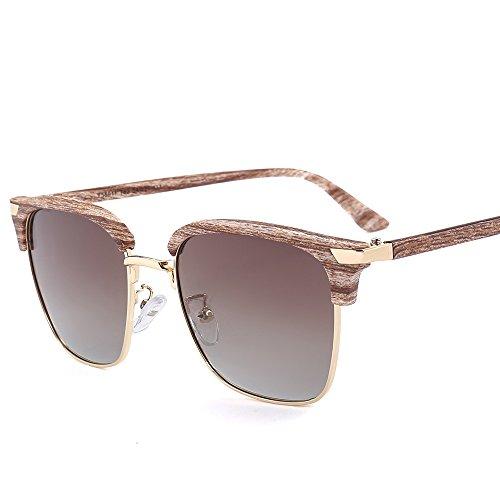lunettes conduite trame soleil de tendances de polarisées soleil mode soleil lunettes de T62 lunettes polarisées Qinddoo demi WUHBnU