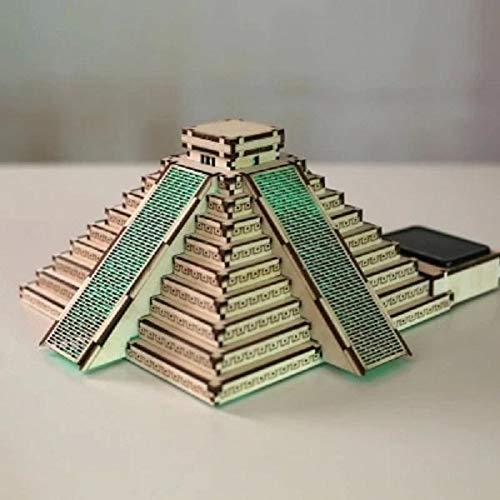 MaviGadget Wooden Solar Assemble The Pyramid of Maya by MaviGadget