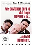 img - for Why Customers Don't Do What They're Supposed To and What To Do About It book / textbook / text book