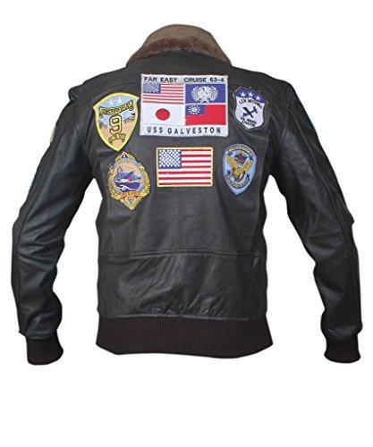 Jacket amp;H F Gun Black Bomber Top Men's RqwXxdZ7wW