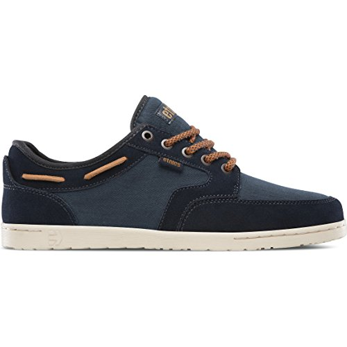 Etnies Men's Dory Skateboarding Shoe, Navy/Brown/White, 11 M US