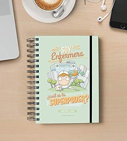 Missborderlike - Agenda 2019 Dia vista - Enfermera