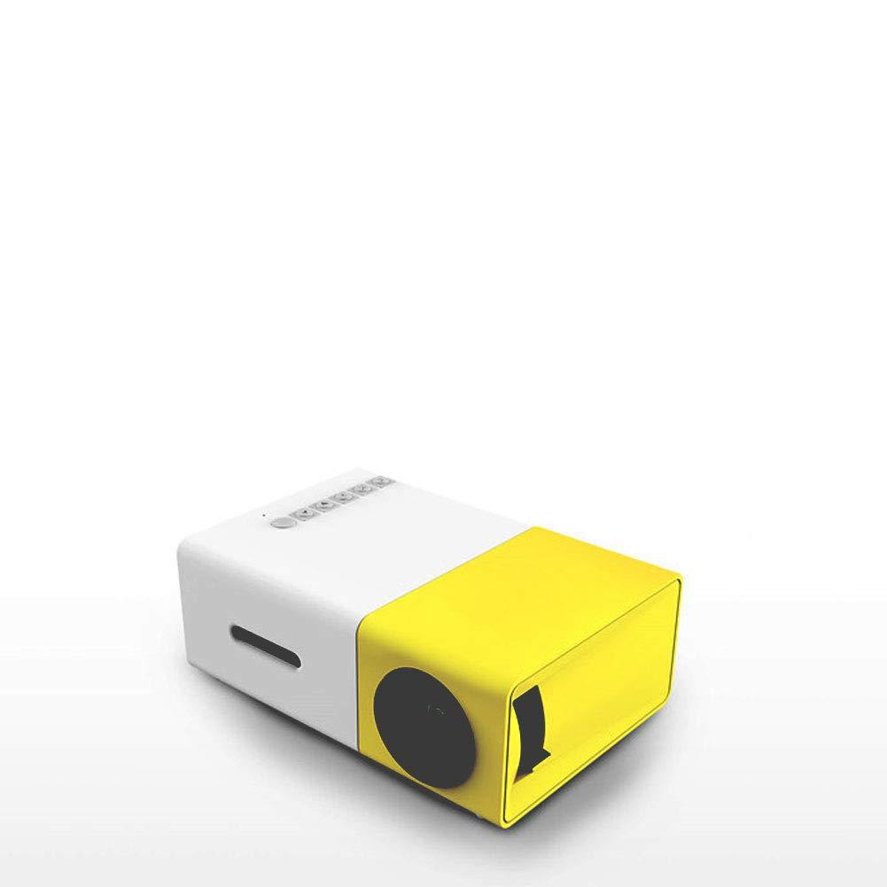 SELCNG Proyector LED en casa YG300 proyector HD 1080P Micro Mini ...