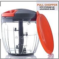 Artikel Chopper with Storage Lid | Chops Vegetables, Nuts & Fruits | Meat Mincer |