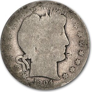 1904 O Barber Half Dollar AG Half Dollar About Good