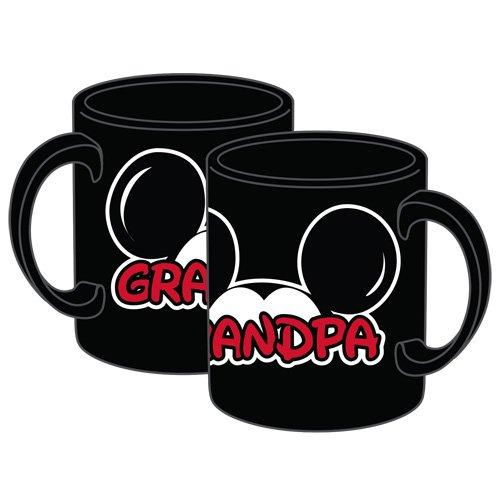Disney Mickey Grandpa Fan Jumbo 20oz Mug, Black]()