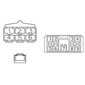 amazon com  radio wiring harness kubota m9000 m6800 m8200
