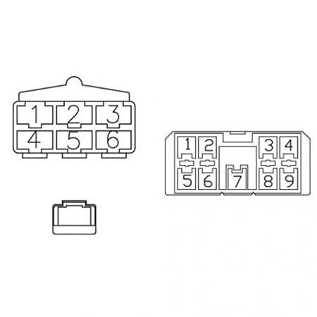 Amazon Com Radio Wiring Harness Kubota M4900 M5700 M9000 M8200 Kubota Kx040 Radio Kubota Radio Mount Kit Kubota Rtv Radio Harness