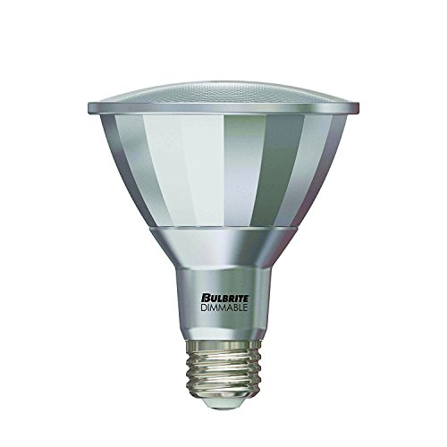 (Bulbrite LED13PAR30L/FL40/927/WD 50W Halogen Equivalent - Medium (E26) Base - Flood - 13W Dimmable Wet Rated Outdoor/Indoor LED PAR30 Long Neck Reflector Bulb, Warm White)