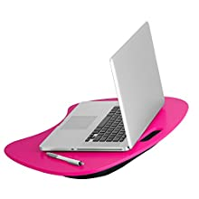 Honey-Can-Do TBL-06322 Portable Laptop Lap Desk with Handle, Hot Pink, 23 L x 16 W x 2.5 H