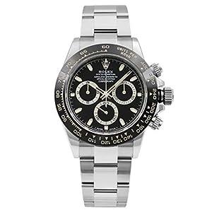 Best Epic Trends 41uNxvPiDQL._SS300_ Rolex Cosmograph Daytona Black Dial 40mm Oystersteel Men's Watch 116500LN-0002