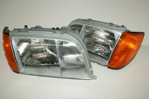 Mercedes S Class 300 - 600 W140 1991-1993 Headlights, used for sale  Delivered anywhere in USA