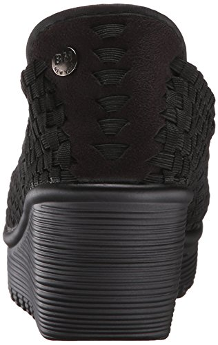 Bernie Pump Wedge Gem Mev Black Women's 0qwvFr0