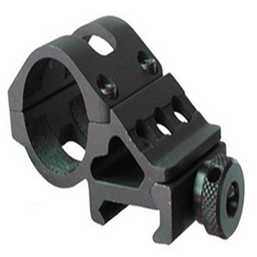 Naisicatar Unique Fire T2008 Airsoft Air Gun Rifle Tactical Flash Light Laser Offset Mount 20 mm Rail Bike Light Holder