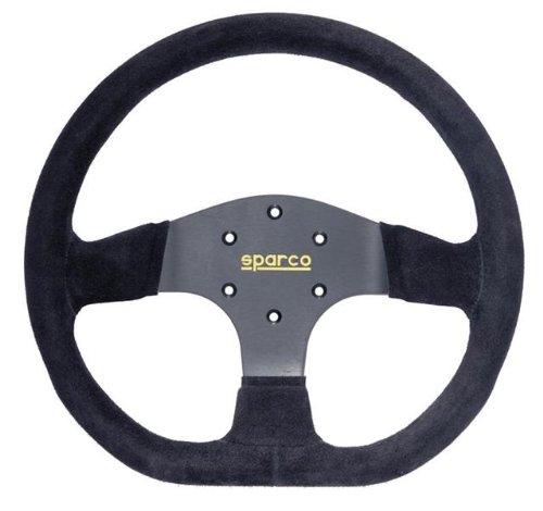 Sparco 015R353PSN Suede Steering Wheel
