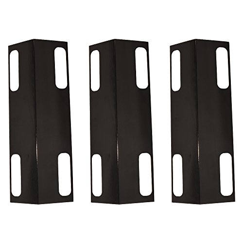 XIDENGLONG 99351(3-Pack) Porcelain Steel Heat Plate Heat Spreader Plate,Ducane Affinity Heat Plates Replacement for Select Ducane Gas Grill Models,Dukane Affinity Gas Grill Cover,30501013 ()