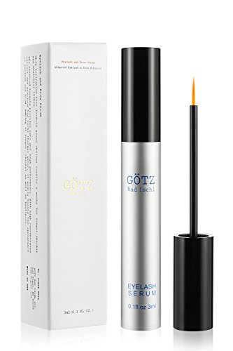 Eyelash Growth Serum GÖTZ BAD ISCHL Lash Growth Serum & Brow Serum for Longer Fuller and Thick Eyelashes and Eyebrows by GÖTZ BAD ISCHL