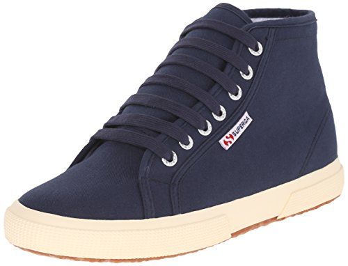 Superga Women's 2095 Cotu Fashion Sneaker, Navy, 37 EU/6.5 M US