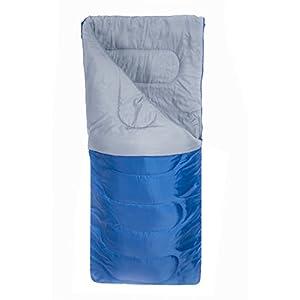 Mountain Warehouse Basecamp 200 Sleeping Bag 1 Season Blue
