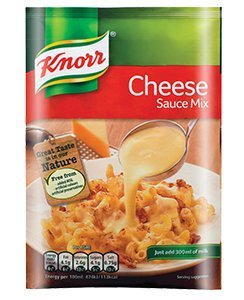Knorr Cheese Sauce Mix (5 x 33g Packets) by Knorr