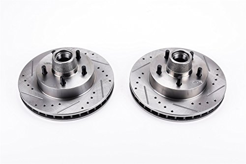 Power Stop AR8600XPR Front Evolution Drilled and Slotted Rotor Pair ()