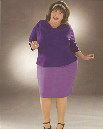 Hairspray John Travolta in purple top & skirt - 8 x 10 Costume Test Photo #2 - (John Travolta Grease Costumes)