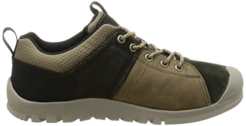 Keen Strassenschuhe CITIZEN KEEN LOW WP BRINDLE/WARM OLIVE