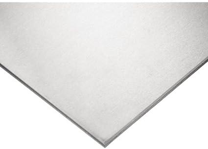Amazon.com: Placa de acero inoxidable 304, acabado sin pulir ...