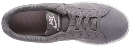 Nike Wmns Court Royale Suede, Zapatillas de Gimnasia Para Mujer Gris (Gunsmokegunsmokegum Light Br 003)