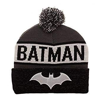 4c1f21a91af Image Unavailable. Image not available for. Color  Bioworld Batman  Reflective Cuff Beanie