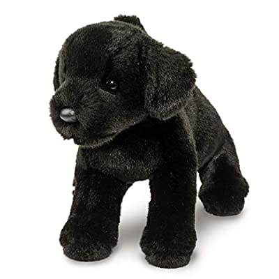 Douglas Brewster Black Lab Plush Stuffed Animal: Toys & Games