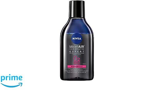 Nivea Mice llair Skin Breathe Expert Mizell Agua Waterproof, micela Lavado Agua para impermeable Maquillaje, 2 unidades (2 x 400 ml): Amazon.es: Belleza