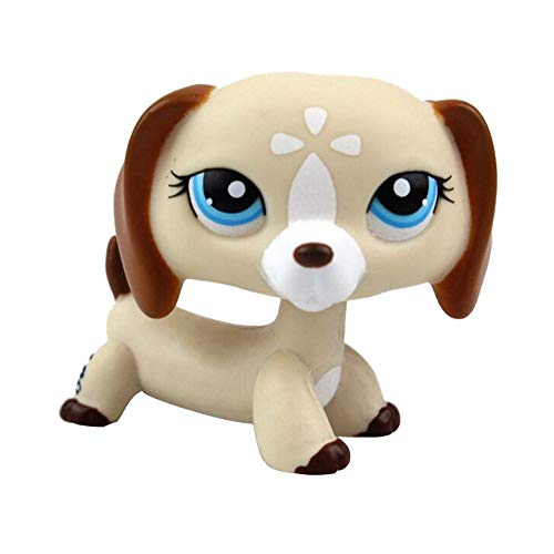 HANANei Toys Littlest Pet Toys LPS Collector Toy LPS Collectible Figure Loose Standing Dog