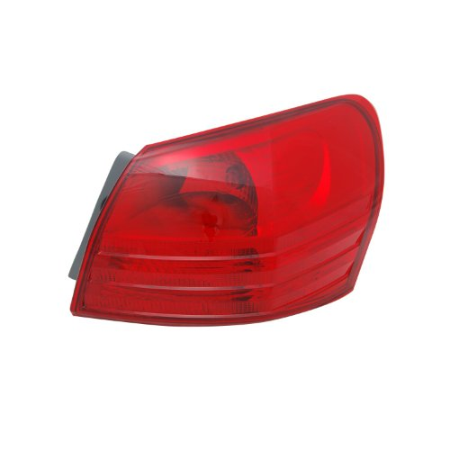 TYC 11-6335-00-9 Nissan Rogue Right Replacement Tail Lamp