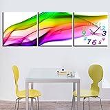 YQQ Modern Style Scenic Canvas Wall Clock 3pcs K226 , 24''x 24''