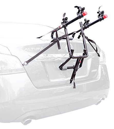 Chrysler 300 Trailer (Allen Sports Deluxe 2-Bike Trunk Mount Rack)