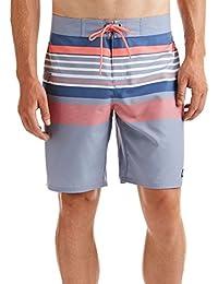 Men's Performance Board Short - Yarmouth Stripe