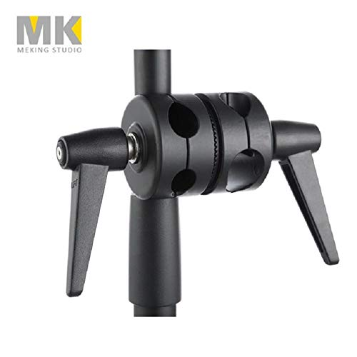 (Light Stand Boom Pivoting Boom Adapter Clamp Clip Photo Studio Lighting for 19/20/25/28mm Boom Shafts Fotografia)