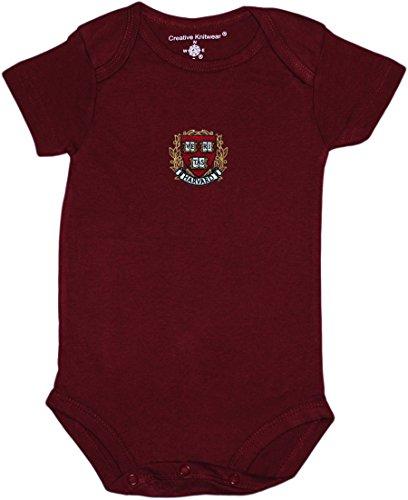 Harvard Newborn Baby Clothes, Crimson, Boy and Girl College ()