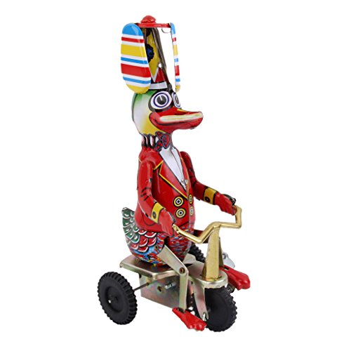 Wind Up Tricycle (Wind Up Circus Duck on Tricycle Clockwork Kids Toy Collectible)
